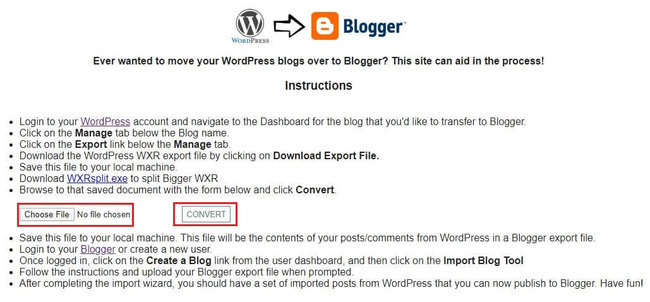 Cara Migrasi Blog WordPress ke Blogspot