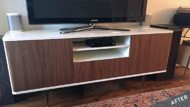 TV Unit Transformation