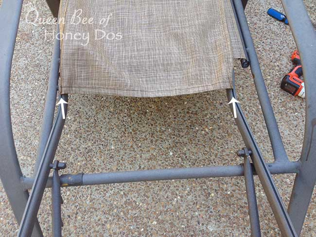 Repair Sling Chairs and Chaises