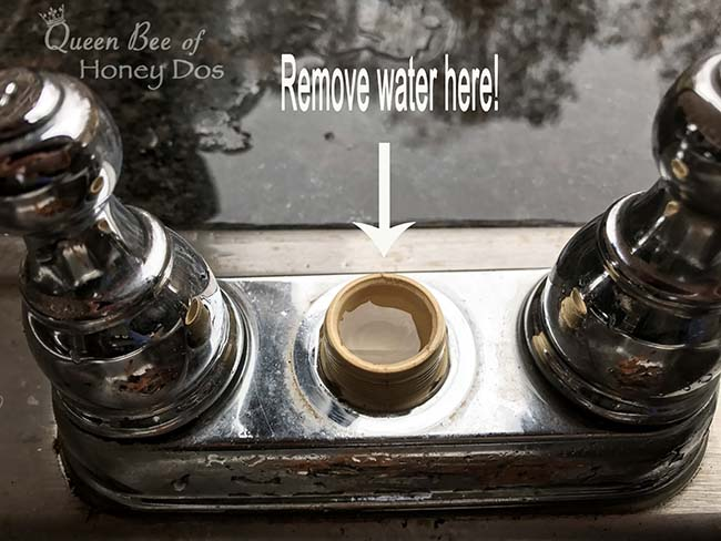 How To - Winterize Outdoor Kitchen Sink