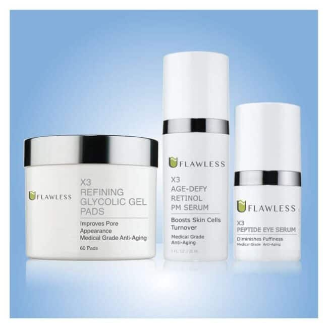 X3 Advanced Medical-Grade Anti-Aging PM Routine
