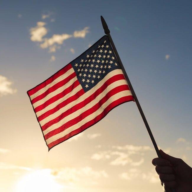 Memorial Flag Watchfire