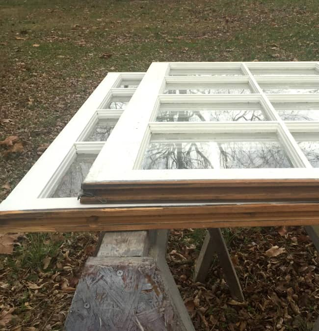 windows before with panes