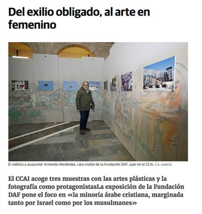 El Comercio, From forced exile to feminine art