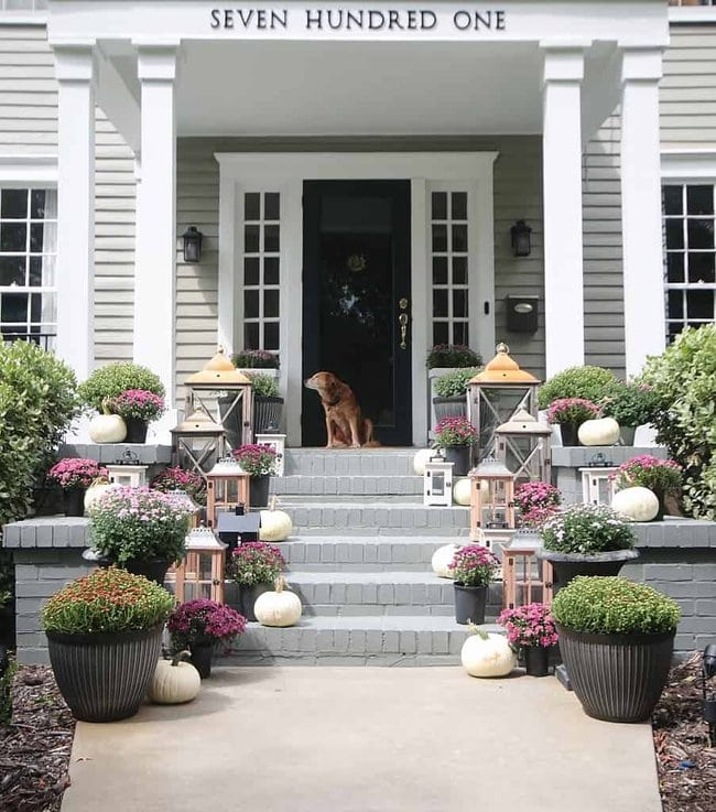 7 Fall Decorating Ideas Outside On The Front Porch Thistlewood Farm