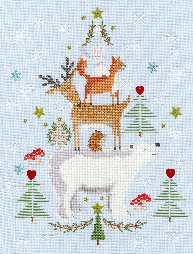 Bothy Threads Christmas cross stitch in the top 5 Craft Gifts for Christmas