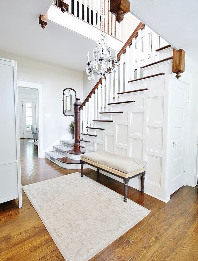 how to maximize space closet under the stairs