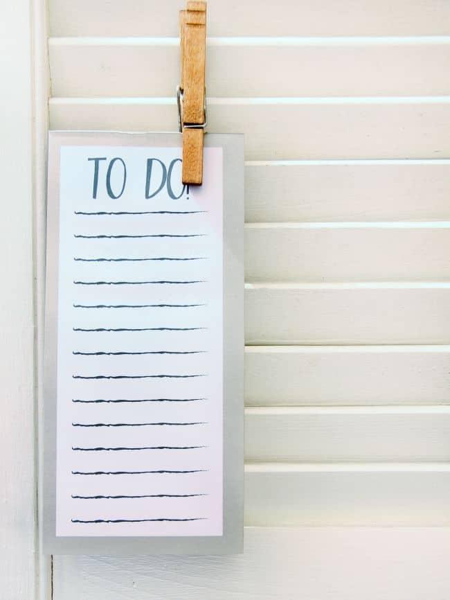 organization notes
