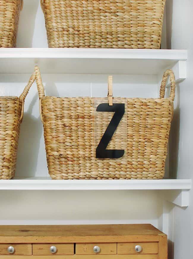 office organization basket