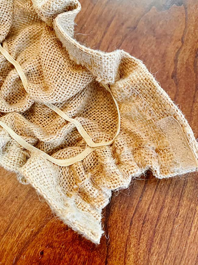 how to cover porch swing chains burlap covers