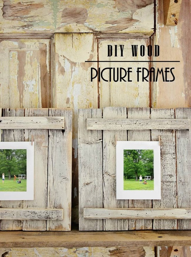 How to make your own wood picture frames