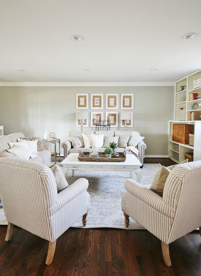living room fall decor ideas