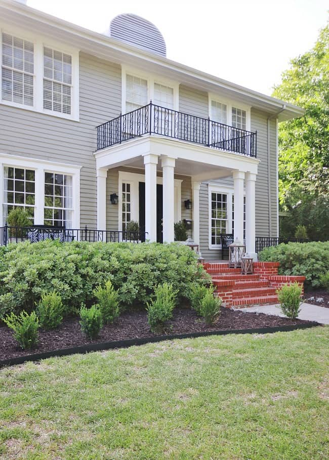 before and after exterior decorating ideas front exterior