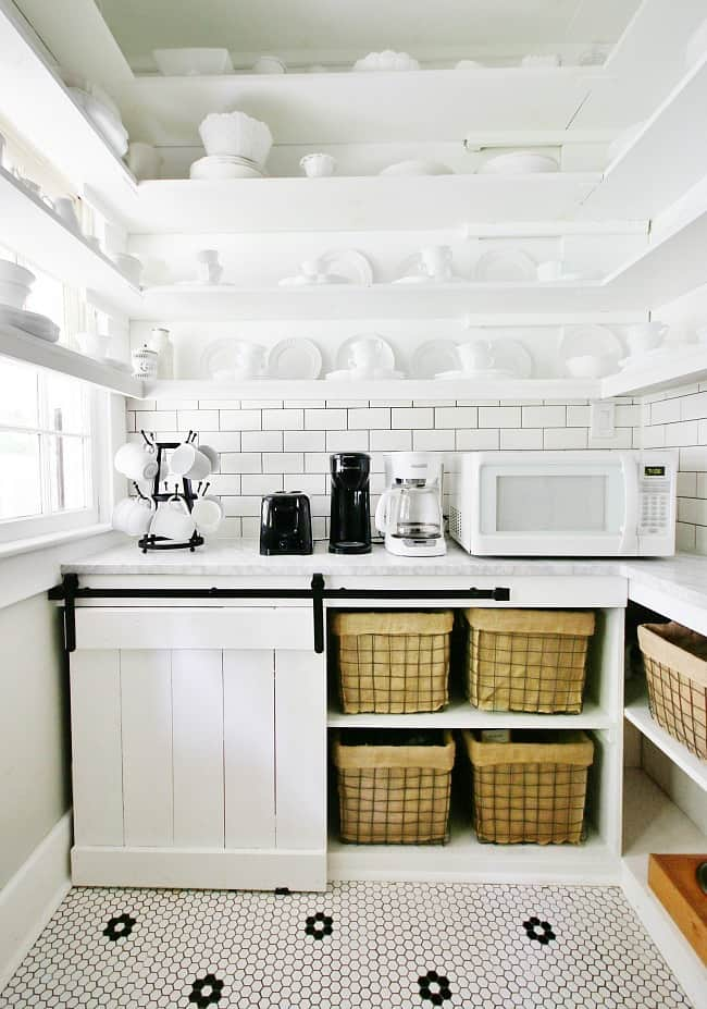 laundry room ideas coffee station