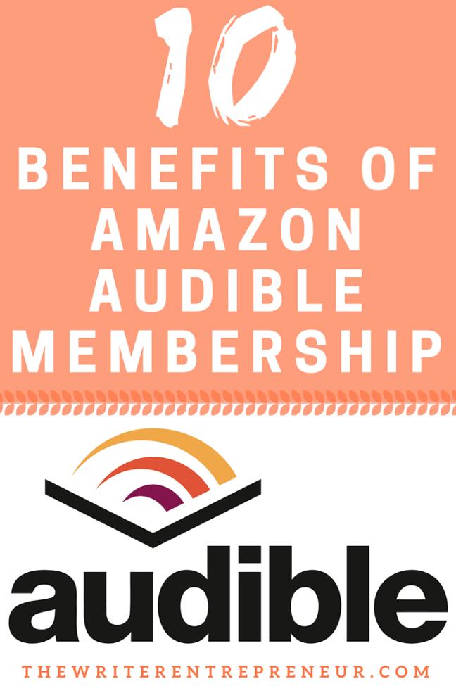 10 Benefits of Amazon Audible Membership