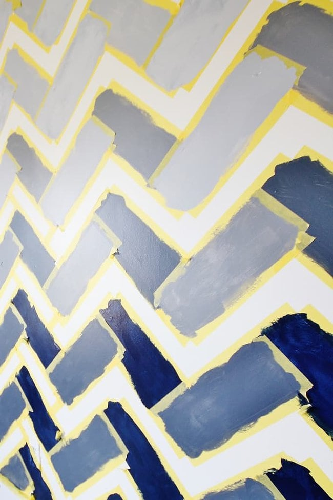 Painted rectangles