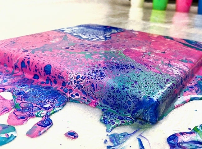 Acrylic Pouring Guide Pour Painting For Beginners