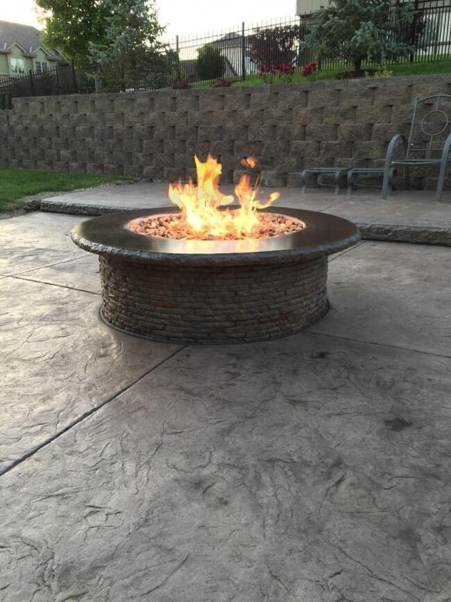 outside fire pit ideas