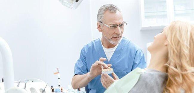 beratung beim zahnarzt
