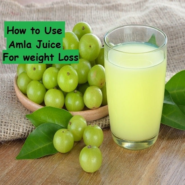 Amla juice for weight loss - featured
