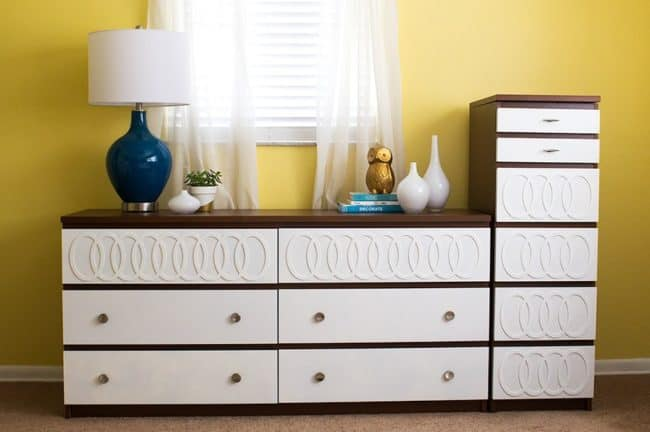 Decorative dresser hack