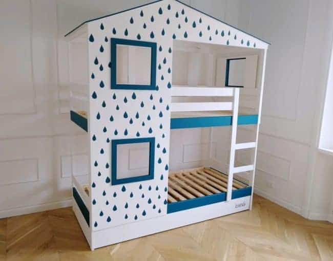 IKEA Mydal bunk bed hack