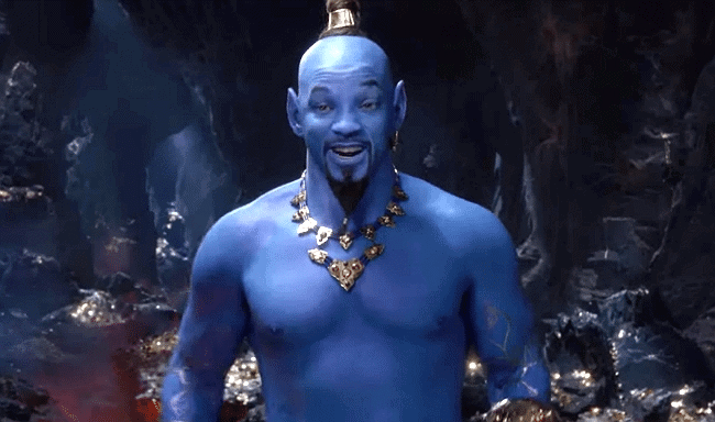 will smith genie meme template