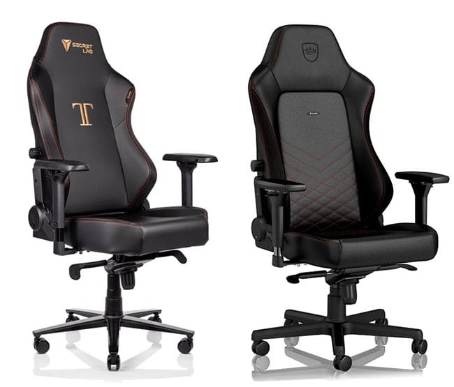 Noblechairs vs Secretlabs