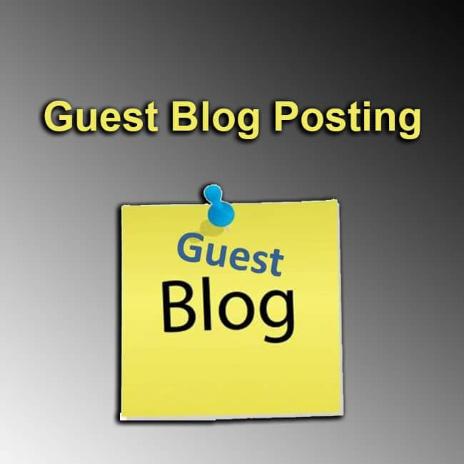 Buy Guest blog posts
