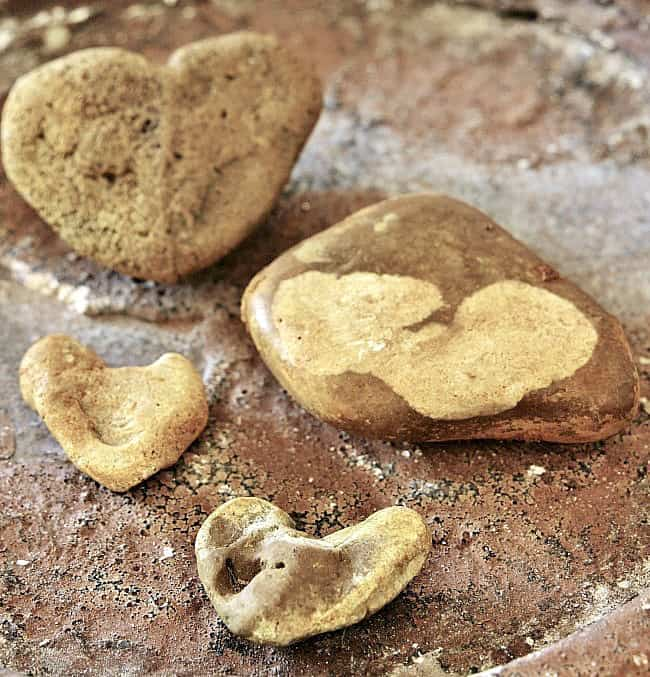 rock-heart-collection