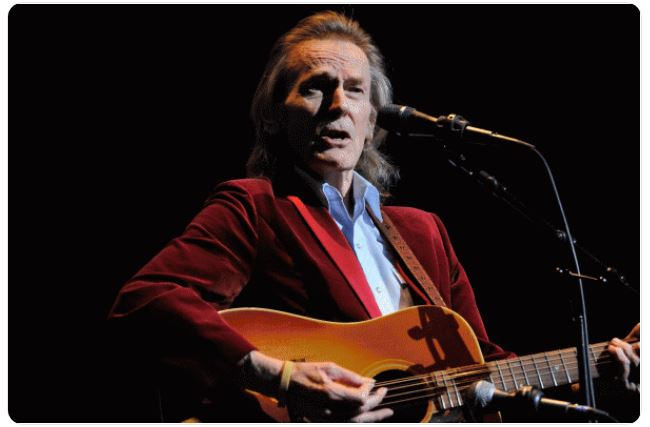 Gordon Lightfoot retweets article written by UNSTOPPABLE Stacey