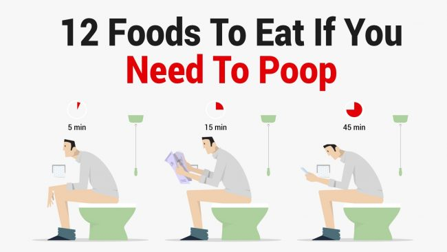 foods to eat if you need to poop