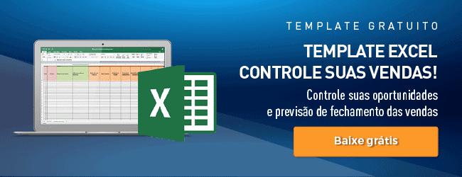 Planilha Excel controle de vendas