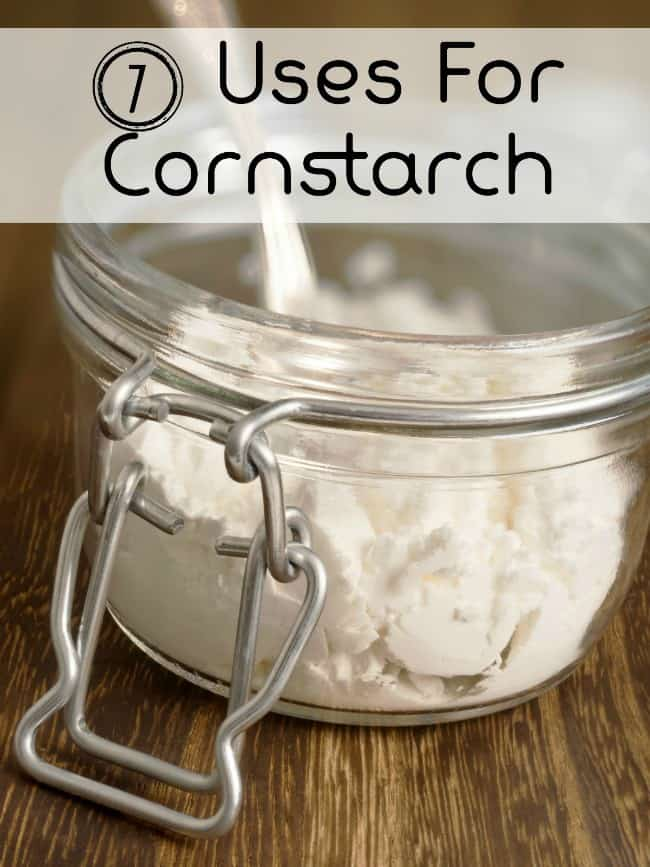 7 Uses For Corn Starch