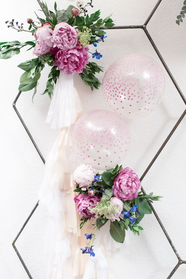 Colorful Boho Sweet Sixteen Party Decorations