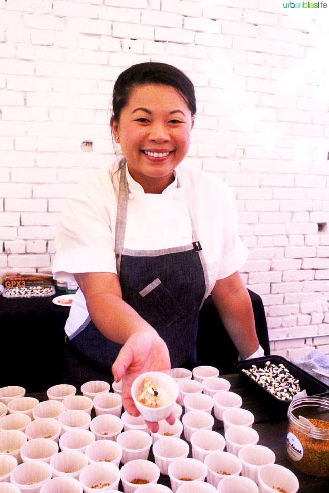 Feast Portland 2015 Chef Mei Lin Sorbet on UrbanBlissLife.com