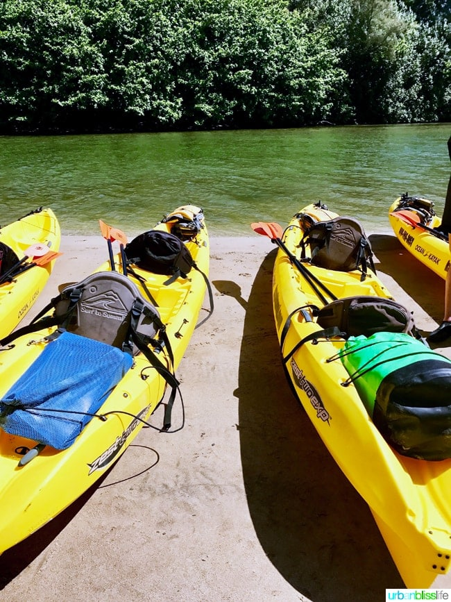 Kayaking in Kauai Hawaii on UrbanBlissLife.com