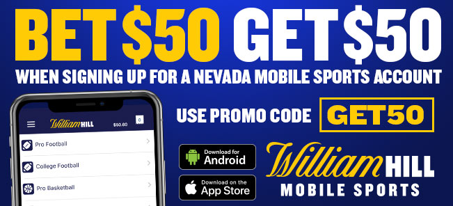 William Hill Nevada promotional offer