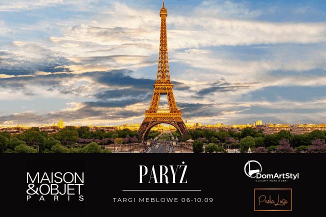 Banner targi Paryż