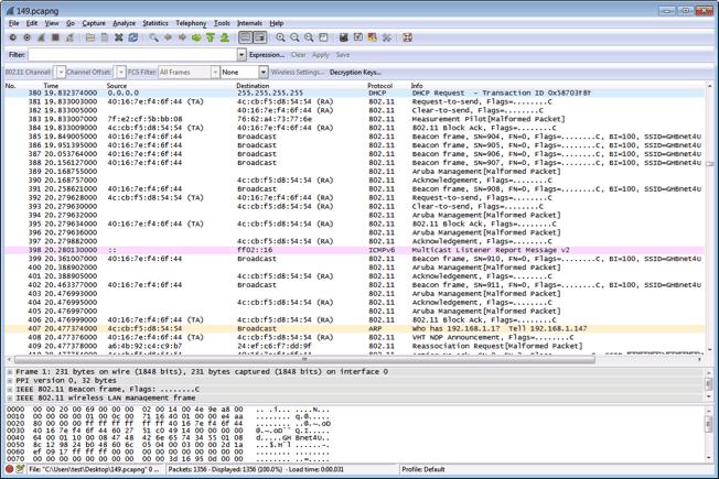 13. Wi-Fi WLAN Network Protocol Investigation