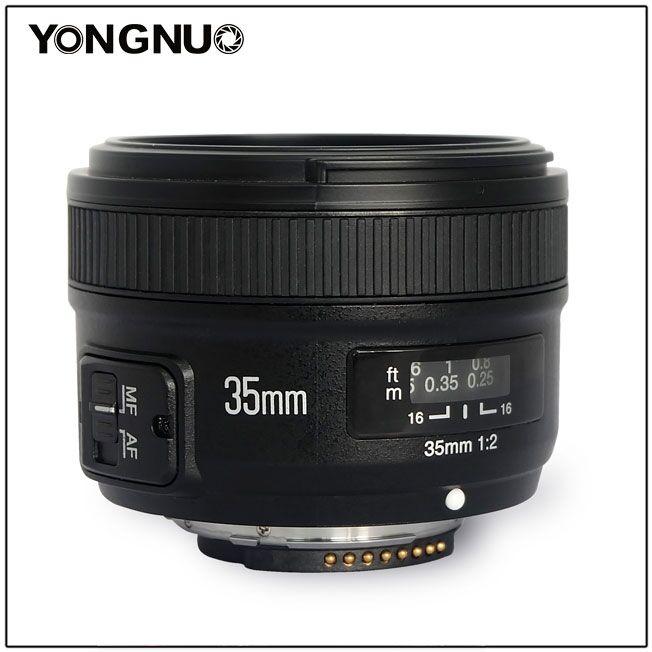 YN 35mm f/2 nhìn dọc