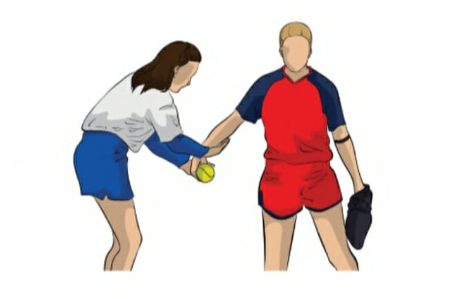 Critique The Pitch Softball Pitching Drill