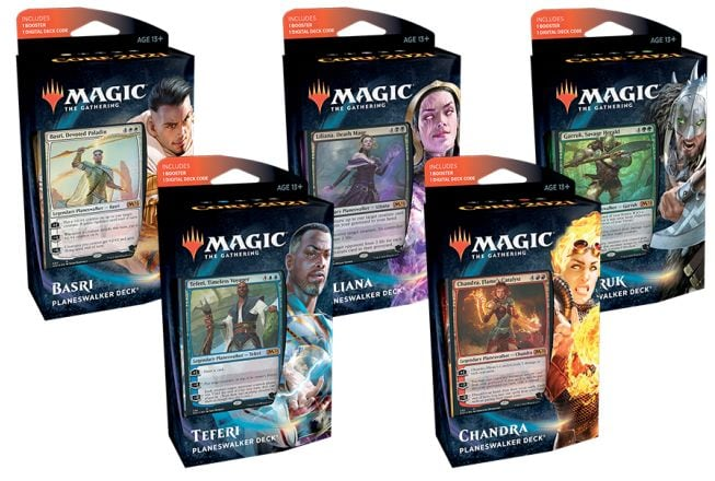 Core Set 2021 Products Planeswalker Decks