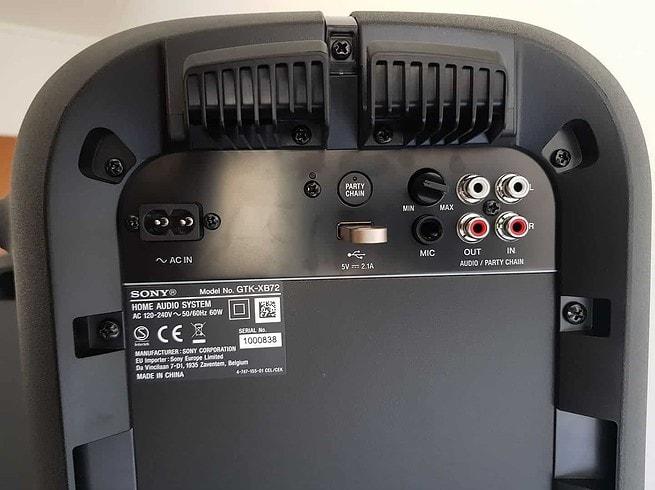Sony GTK - XB72