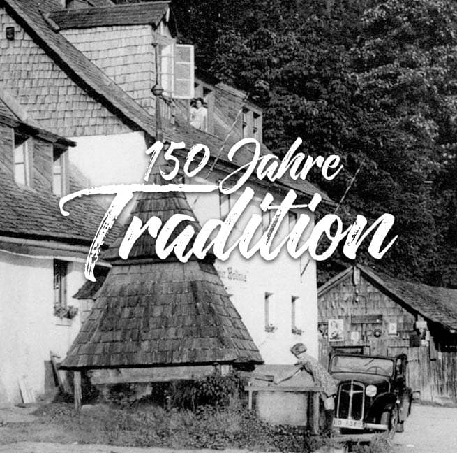 Zwieseler Waldhaus 150 Jahre Tradition