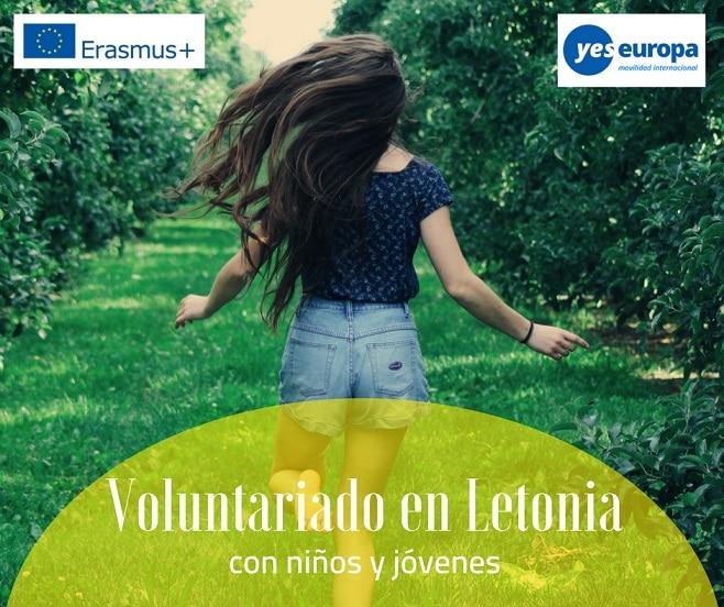 Voluntariado para jóvenes en Letonia con niños y jóvenes