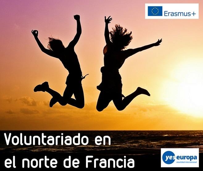Voluntariado en el norte de Francia