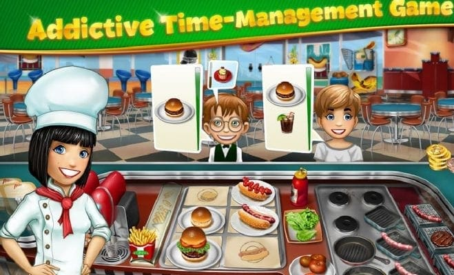 Cooking Fever-5 Best Cooking Games for Android Devices