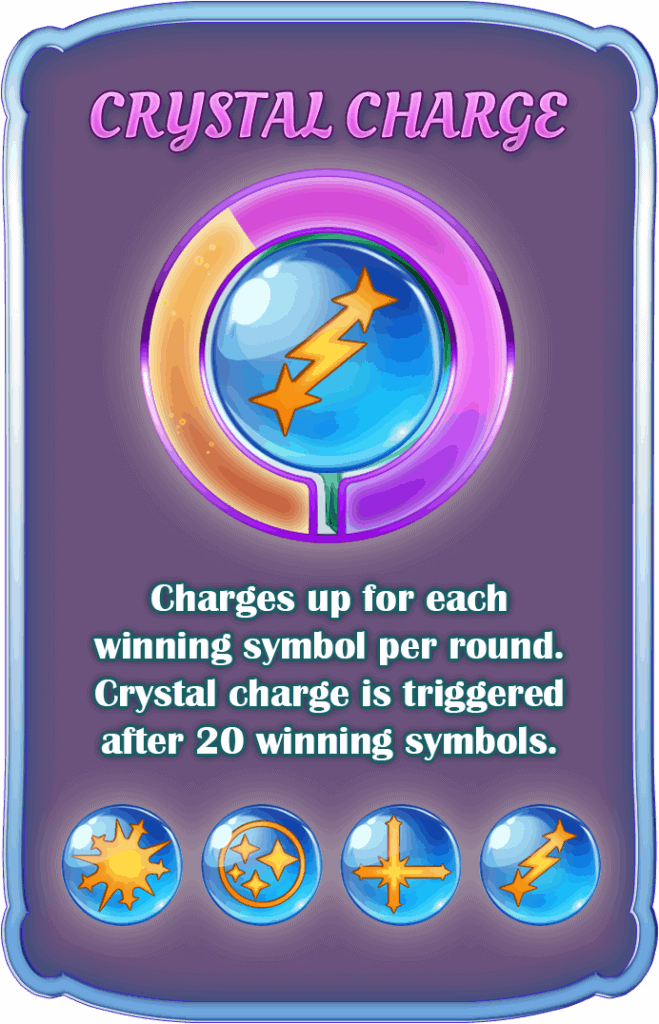 gemix bonus feature crystal charge video slot playngo