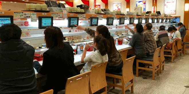 top conveyor belt sushi restaurants in tokyo city